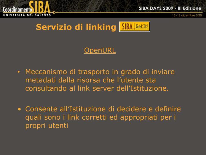 Servizio di linking