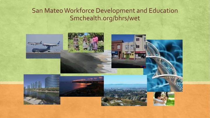San Mateo Workforce Development and Education