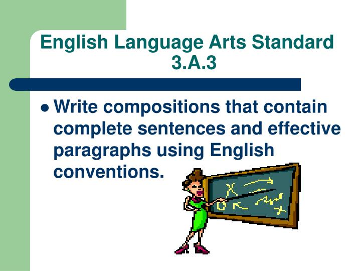 English Language Arts Standard