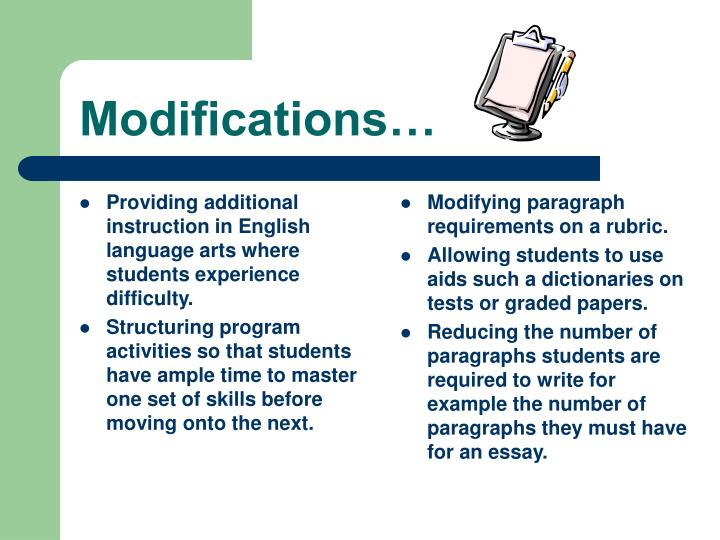 Providing additional instruction in English language arts where students experience difficulty.