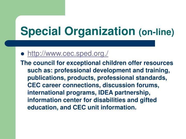 Special Organization