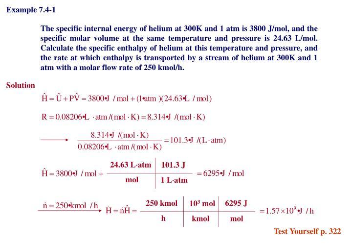 Example 7.4-1