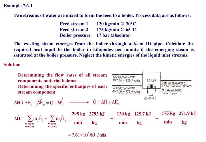 Example 7.6-1