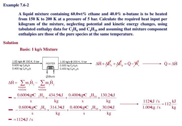 Example 7.6-2