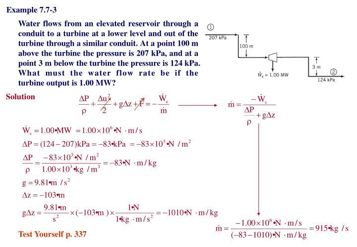 Example 7.7-3