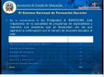 el sistema nacional de formaci n docente9