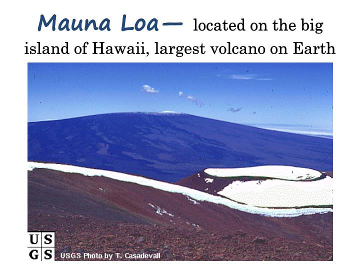 Mauna Loa—