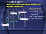 related work multi dimensional range queries in sensor networks2