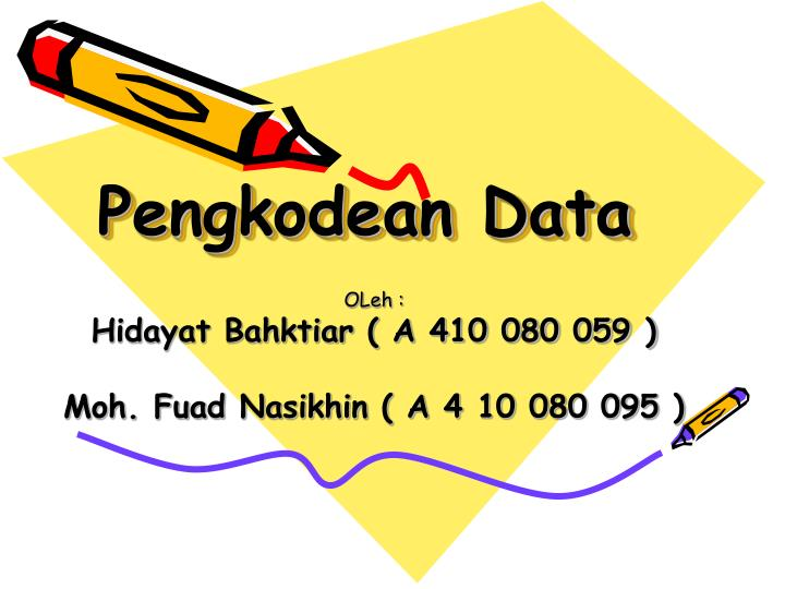 Pengkodean data