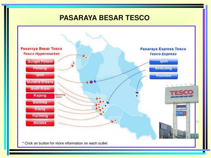 PASARAYA BESAR TESCO