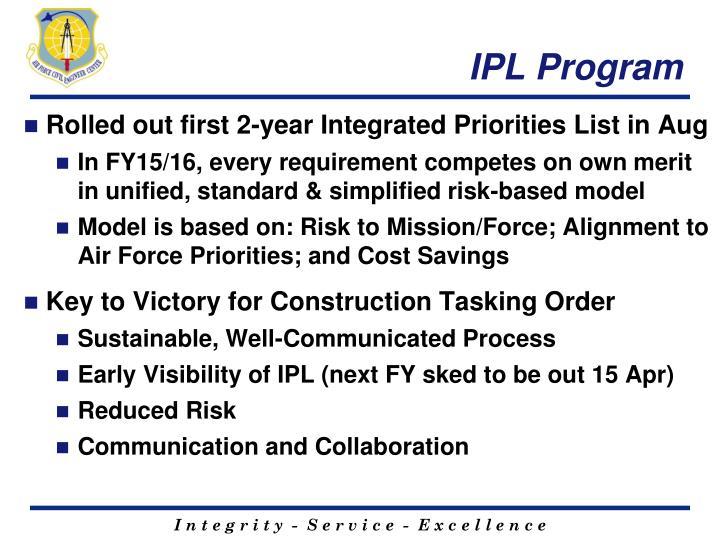IPL Program