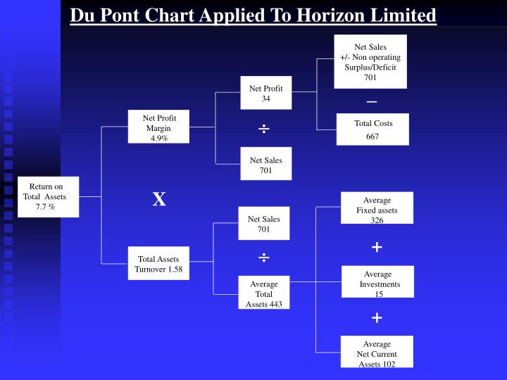 Du Pont Chart Applied To Horizon Limited