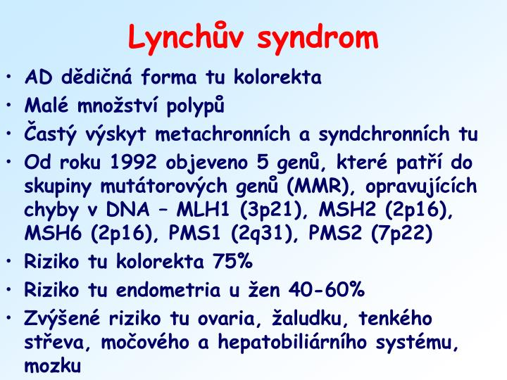 Lynchův syndrom