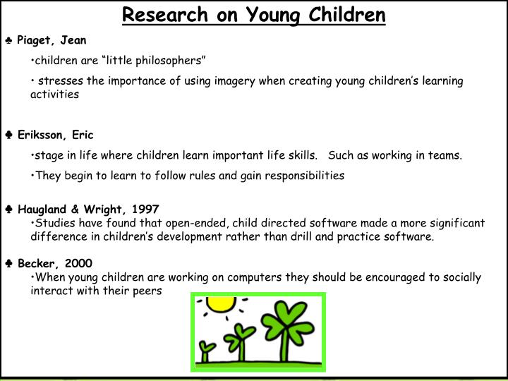Research on Young Children