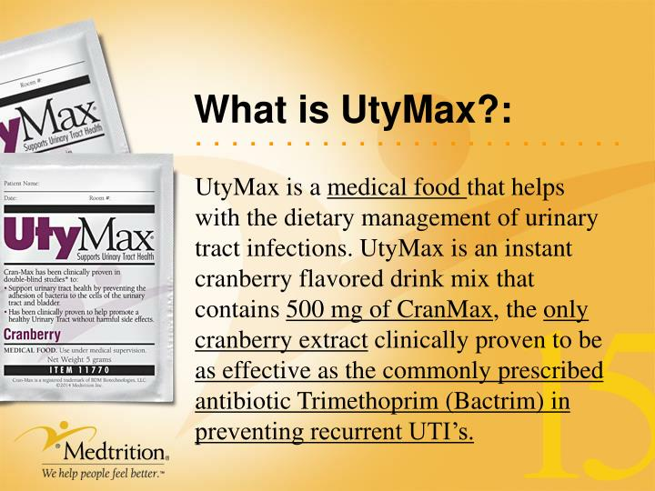 What is UtyMax?: