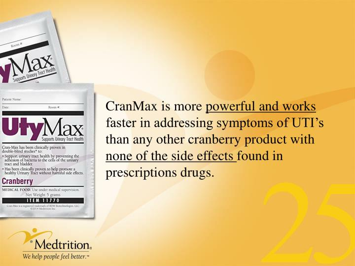 CranMax is more