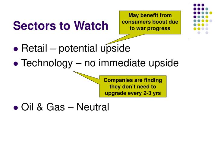Sectors to Watch