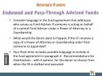 advised funds1