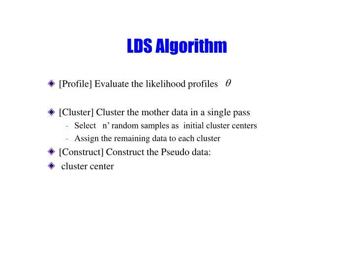 LDS Algorithm