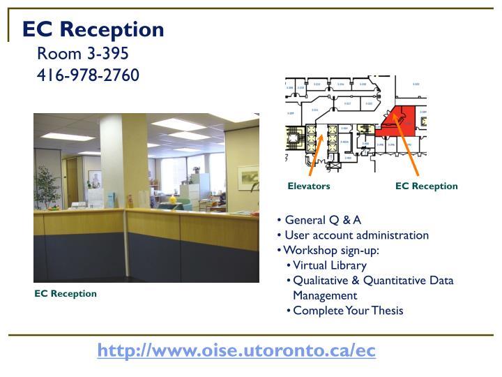 EC Reception