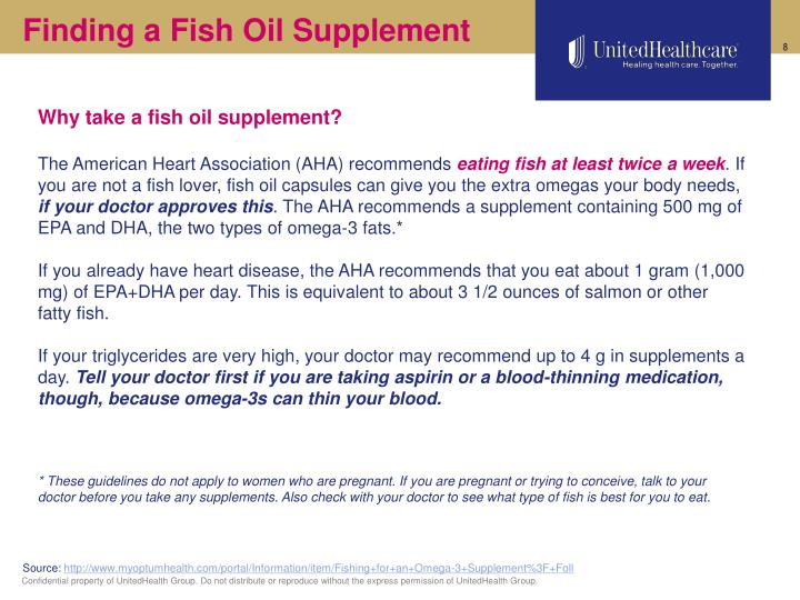 Finding a Fish Oil Supplement