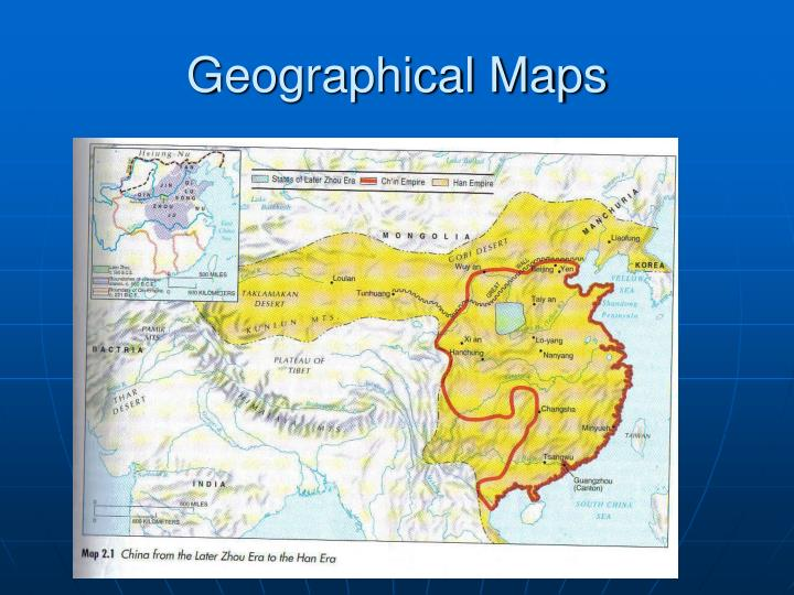 Geographical Maps