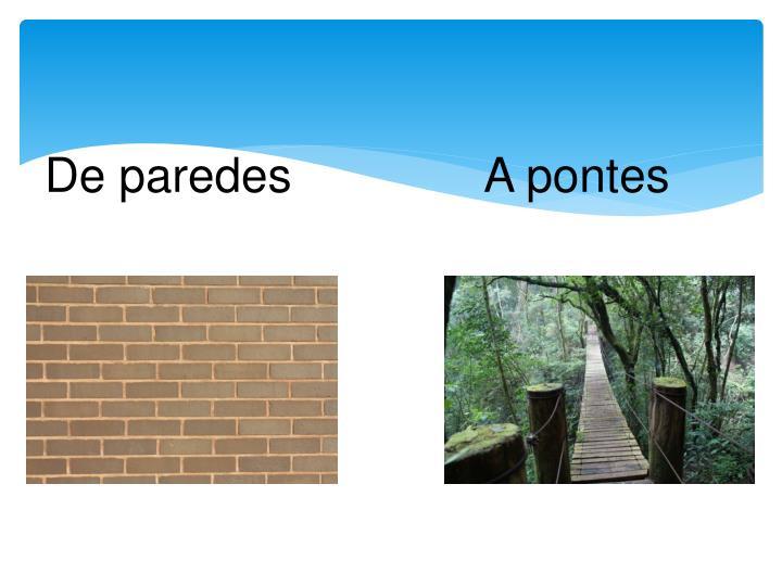 De paredes