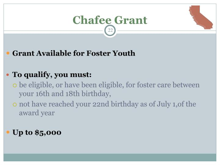 Chafee Grant