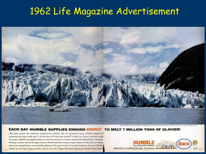 1962 Life Magazine Advertisement