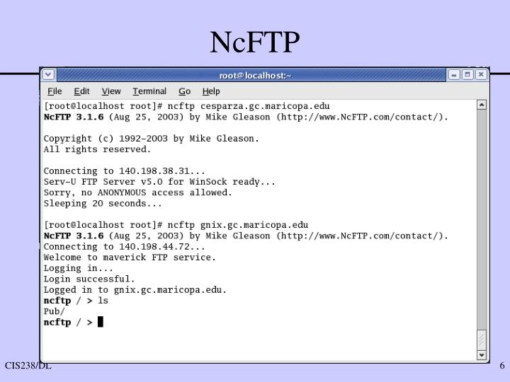 NcFTP