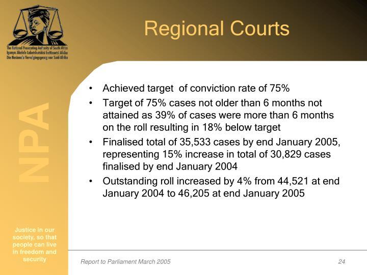 Regional Courts