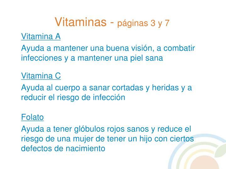 Vitaminas -