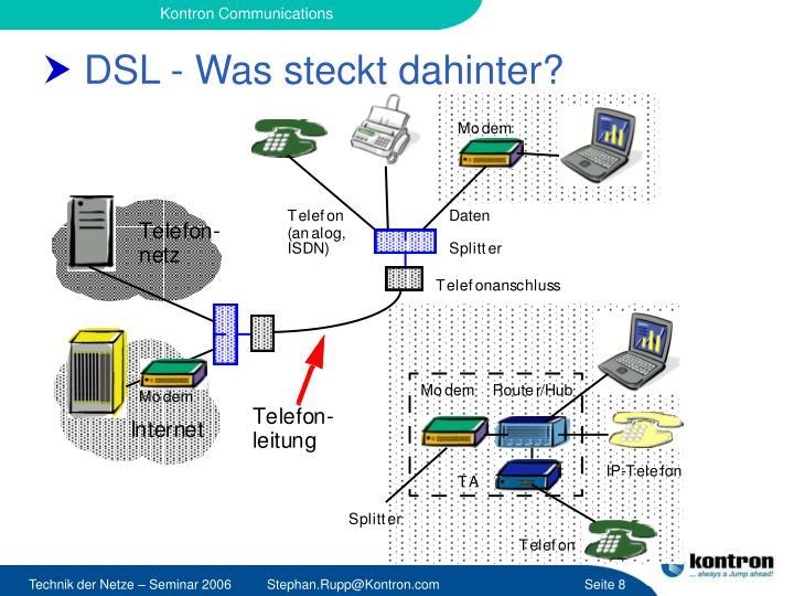 DSL - Was steckt dahinter?