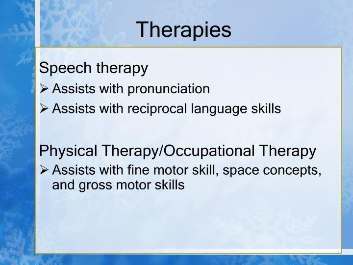 Therapies