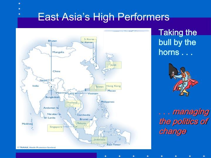 East Asia's High Performers