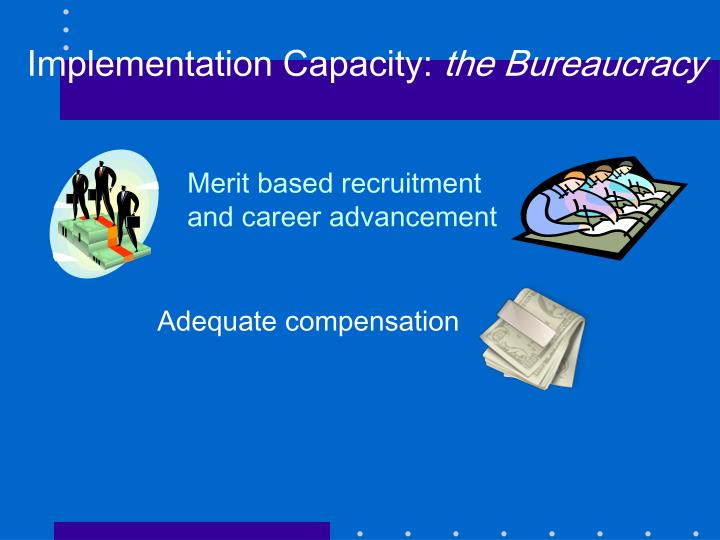 Implementation Capacity: