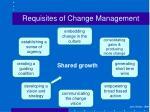 requisites of change management2