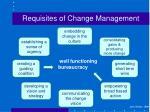 requisites of change management5