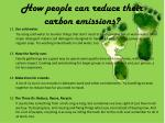 how people can reduce their carbon emissions3