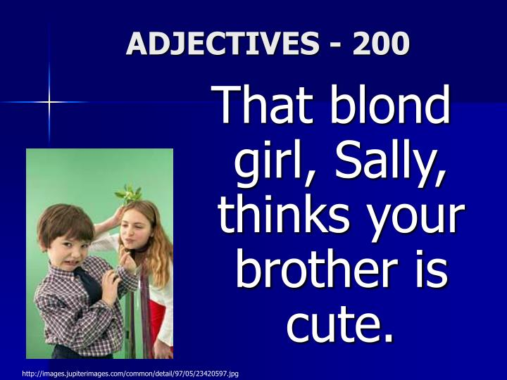 ADJECTIVES - 200