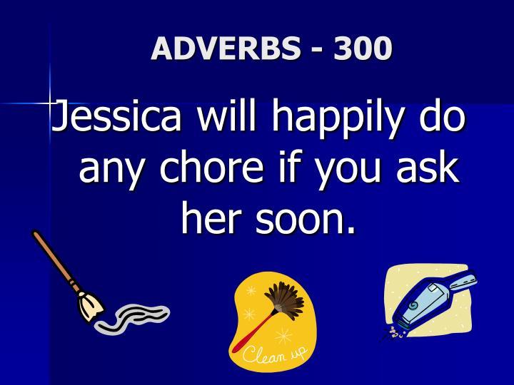 ADVERBS - 300