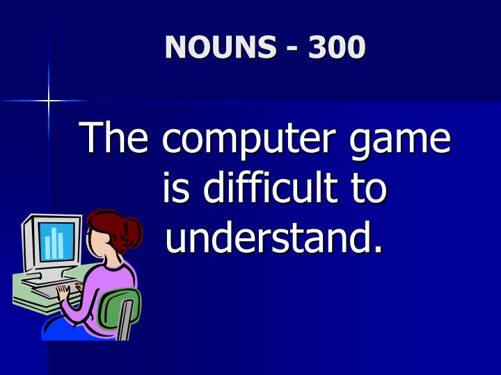 NOUNS - 300