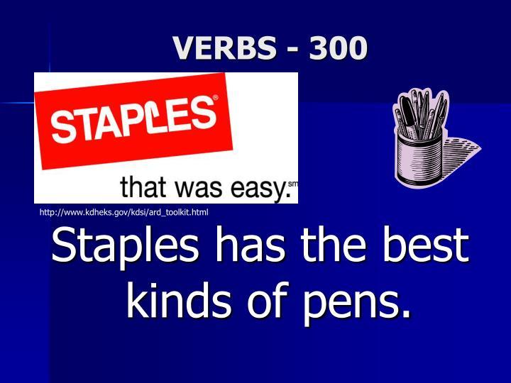VERBS - 300