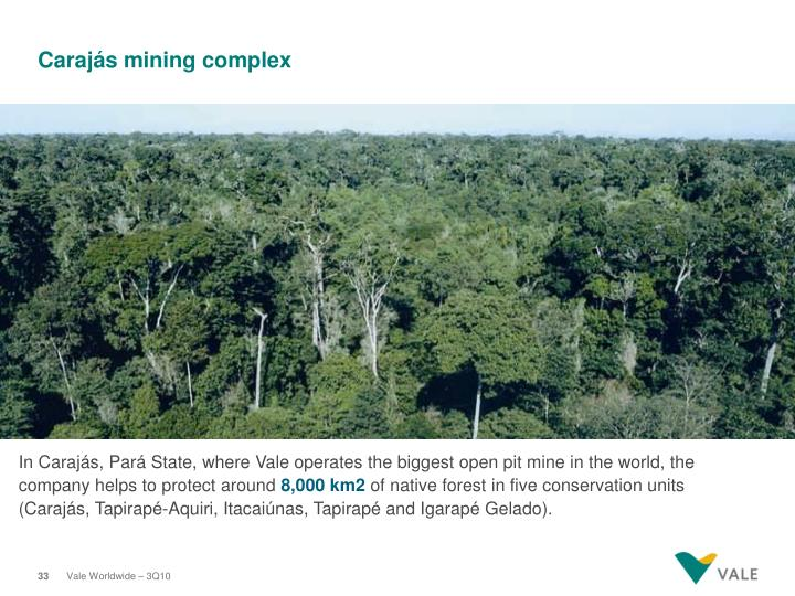 Carajás mining complex