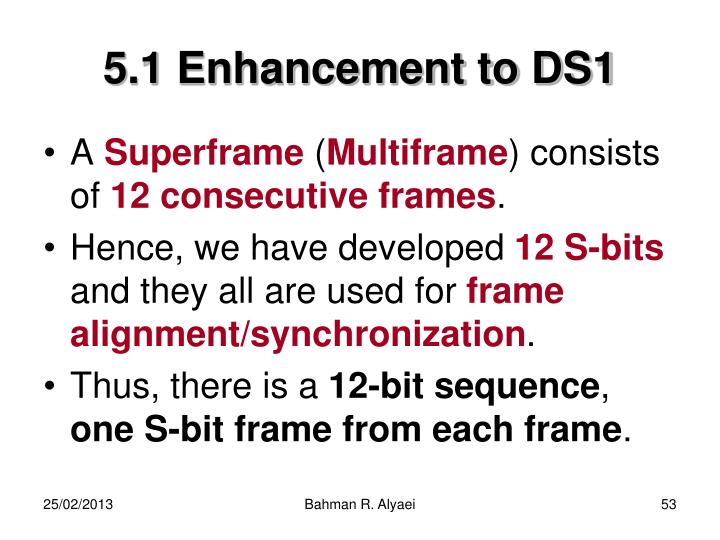 5.1 Enhancement to DS1