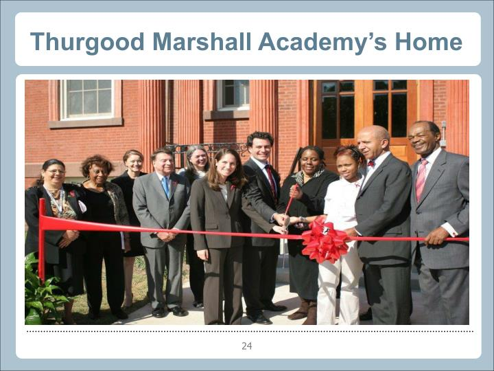Thurgood Marshall Academy's Home