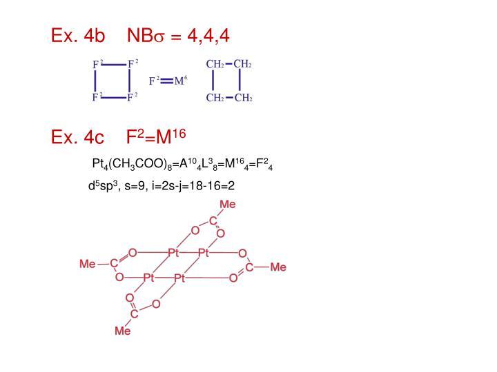 Ex. 4b    NB
