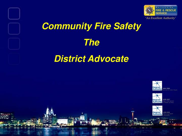 Community Fire Safety