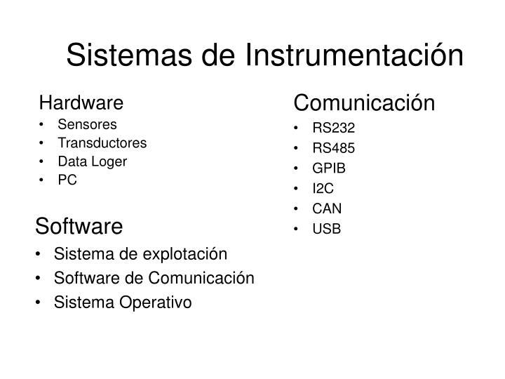 Sistemas de Instrumentación