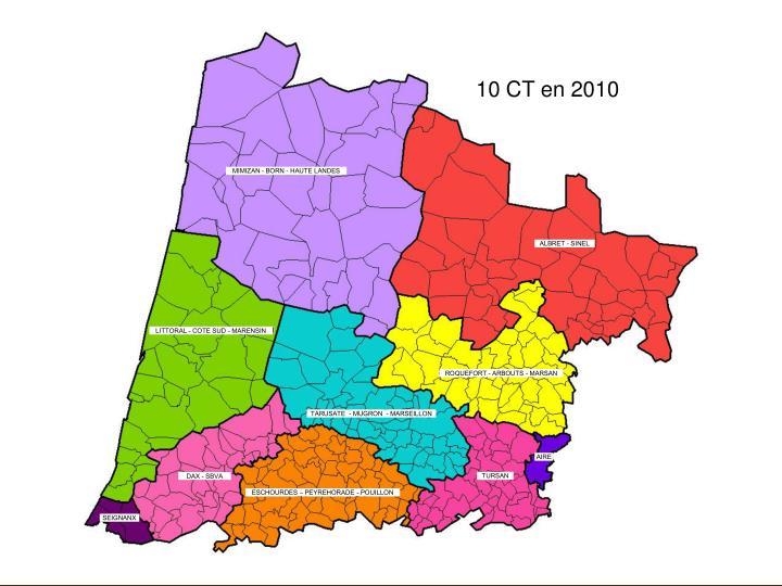 10 CT en 2010